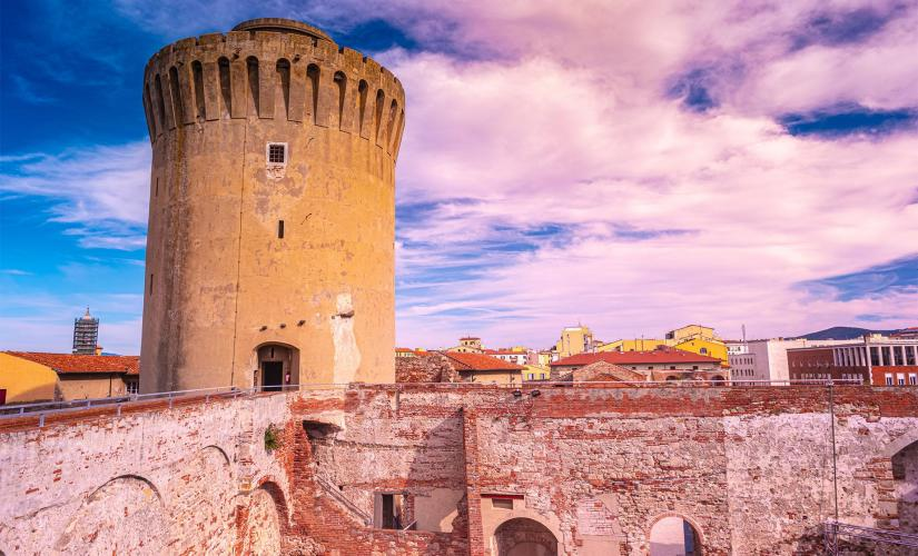 Private Livorno City Cruise Tour to Fortezza Vecchia and New Venice