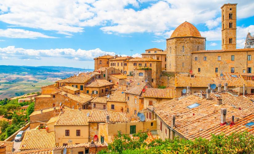 Private Volterra and San Gimignano Highlights Tour