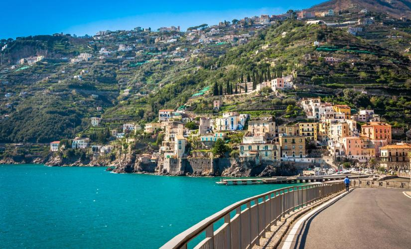 City of Pompeii Tour & Private Amalfi Coast Drive from Naples