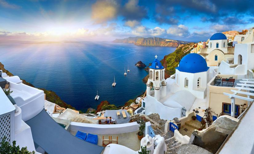 Private Guided Highlights of Santorini Tour (Mt Profits Ilias)