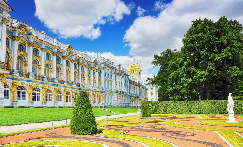Private Catherine's Palace in Pushkin Tour from St. Petersburg