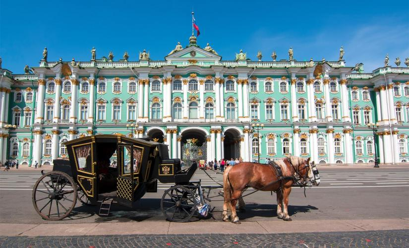 Private Grand St. Petersburg Tour (Winter Palace, Bronze Horseman, Synagogue)