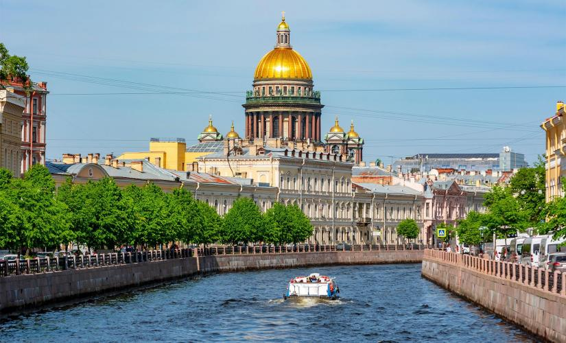Private Church on Spilled Blood and Canal Cruise