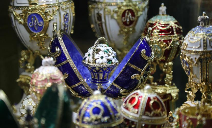 Private Faberge Museum & Canal Cruise
