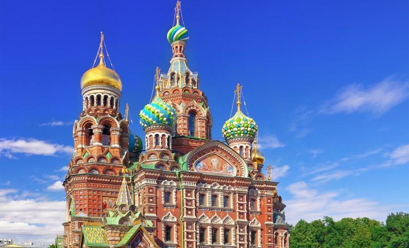 Private City Sightseeing with a visit to Church on Spilled Blood & Hermitage  (Wheelchair Accessible Tour)