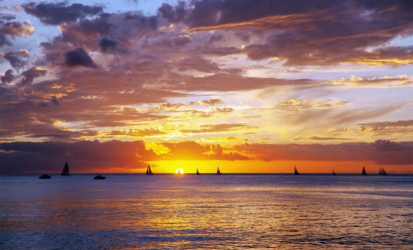 Honolulu Sunset Dinner Cruise and Show Tour from Oahu