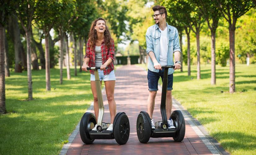 Honolulu Culture and History Segway Tour in Oahu (Aloha Tower, Chinatown, and Washington Place)