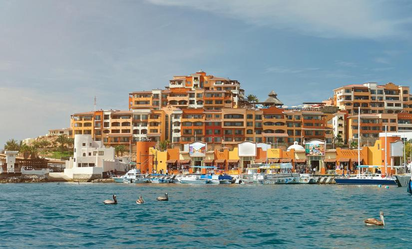 Cabo San Lucas City Tour and Glass Bottom Boat Tour (Finisterra, Zocalo)