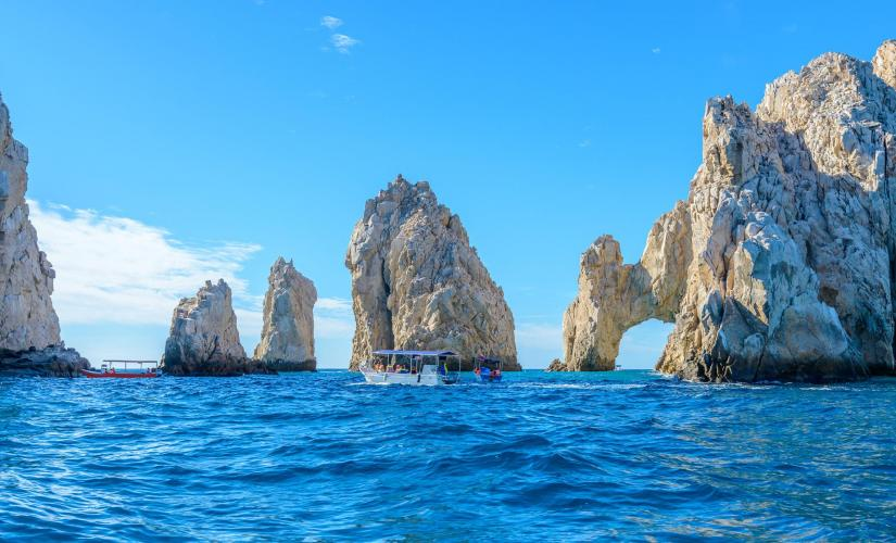 Golden Coast Cruise and Snorkel Tour in Cabo San Lucas (Lover's Beach, Pelican Rock)