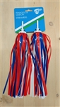 49N Streamers - Red and Blue
