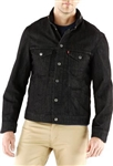 Levi's Commuter Trucker Jacket Black Denim