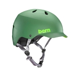 Bern Watts Matte Leaf Green (with Grey Straps)