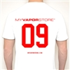 myvaporstore 09 Crewneck T Shirt - Red