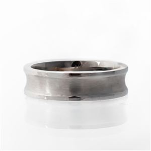 Classic Brushed Men's Wedding Band