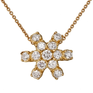 HopeStar 35 Diamond Pendant Necklace