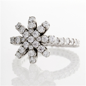 HopeStar Diamond Eternity Ring, 1.5 carats of round brilliant diamonds, 14k Gold