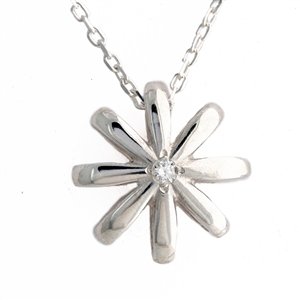 HopeStar Diamond Pendant Sterling Silver