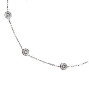 Diamonds By The Inch Chain 1.40ct Platinum