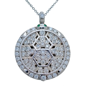 Turtle Diamond Medallion