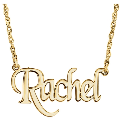 10k Name Necklace