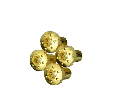 24 kt Gold Plated 1911 Screws