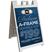 Deluxe A-Frame Sign