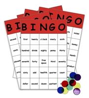 Math Words Bingo Game: Homeschool Complete