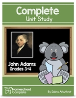 Homeschool Complete Unit Study: John Adams