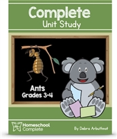Homeschool Complete Unit Study: Ants