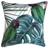 Bahama Bird Outdoor Cushion