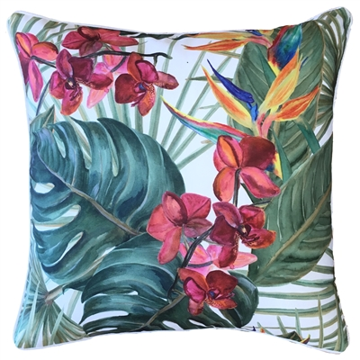 Bahamas Pink Orchid Outdoor Cushion