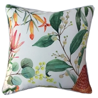 Banksia White Outdoor Cushion