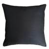 Black PLAIN Outdoor Cushion