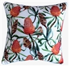 Bottle Brush Flower Outdoor Cushion