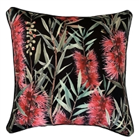 Callistemon Black Outdoor Cushion