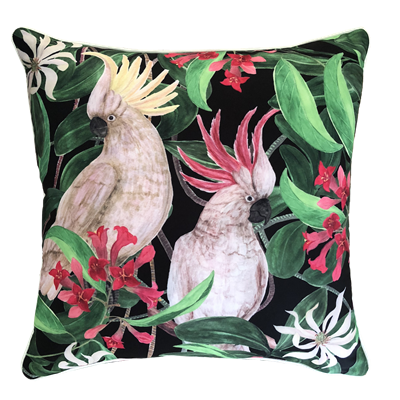 Cockatoo Eden Outdoor Cushion