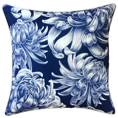 Hamptons Navy OutdoorCushion
