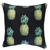 Jungle Fruits Black Pineapple Outdoor Cushion
