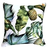 Jungle Fruits White Leaf Outdoor Cushion