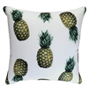 Jungle Fruits White Pineapple Outdoor Cushion