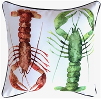 Marine Lobster Outdoor Cushion