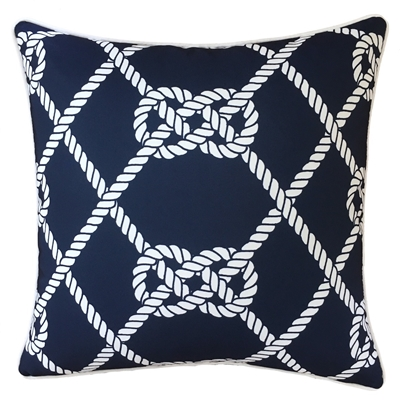 Reef Knot Outdoor Cushion