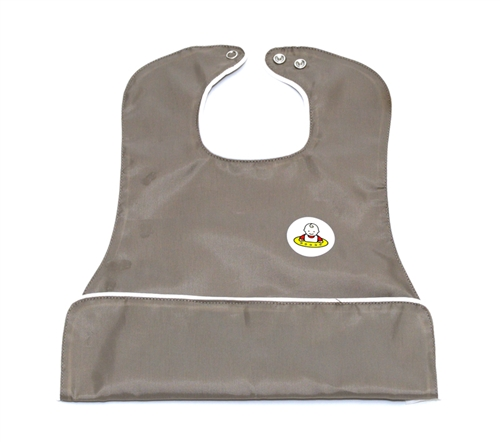 Neatnik oversize pocket bib - khaki