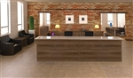 Amber Series Multi User U Shaped Reception Desk AM-404N by Cherryman Industries