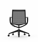 iDesk Mid Back Curva Mesh Chair CUR111 by Cherryman