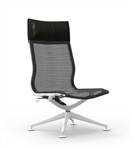 Cherryman Industries iDesk Curva Lounge Chair CUR120