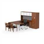 JA-178 Jade Executive U-Desk by Cherryman