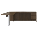 VL-717 Verde Series L Shaped Desk Arc Desk with Return by Cherryman