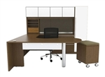 Verde Collection VL-735 U Shaped Workstation by Cherryman