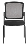 Dakota 2 Armless Mesh Visitors Chair 7014 by Eurotech